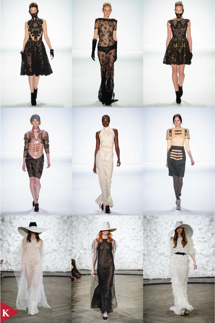 Berlin FashionWeek - FALL 2014 - WOMENSWEAR - Irene Luft - Marina Hoermanseder - Kaviar Gauche