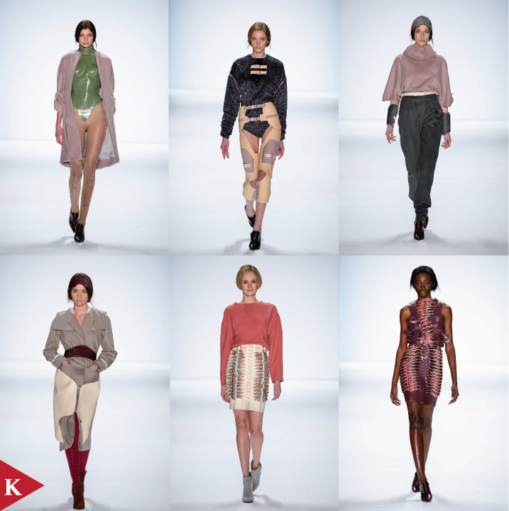 Berlin FashionWeek - FALL 2014 - WOMENSWEAR - Marina Hoermanseder