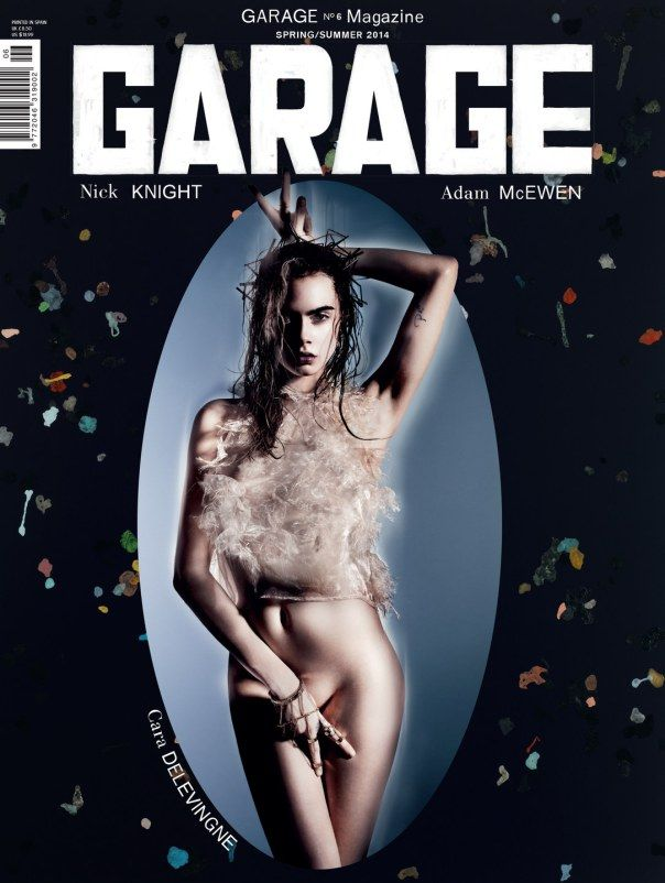 Cara Delevingne for Garage Magazine March 2014 by Nick Knight