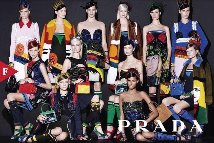 FashionPortFolio - Prada Spring 2914 by Steven Meisel