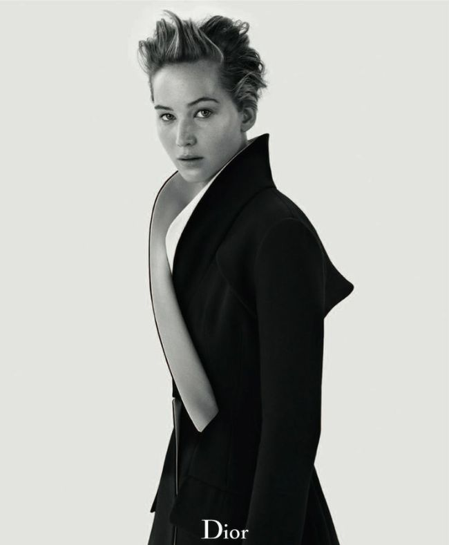 Jennifer Lawrence - Girl on Fire - Dior Magazine Fall 2013 Mikael Jansson