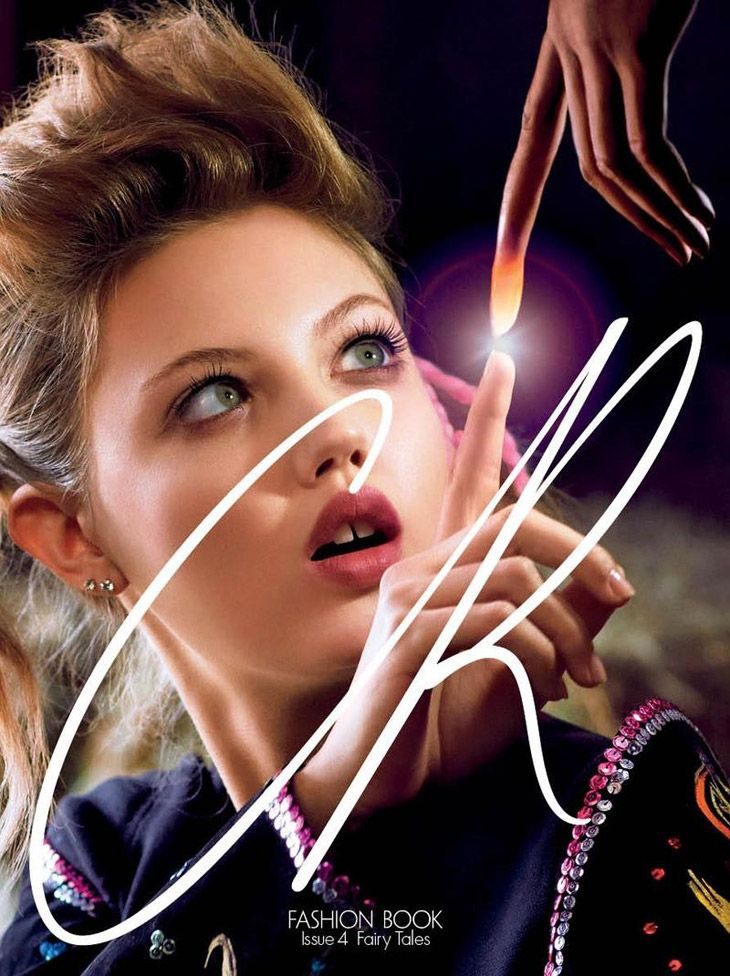 Lindsey Wixson for CR Fashion Book March 2014 by Sebastian Faena