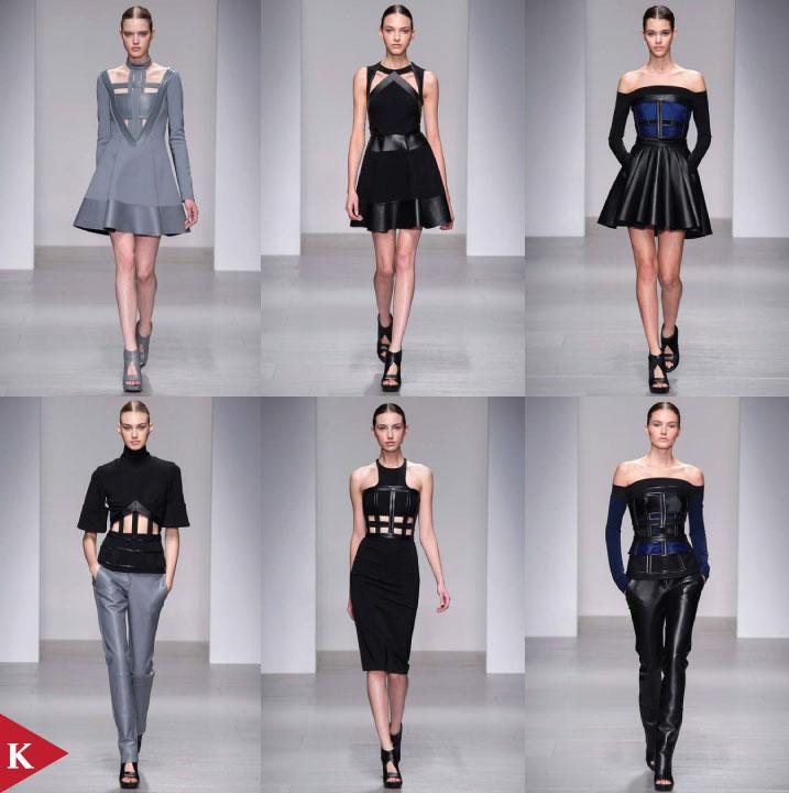 London FashionWeek - FALL 2014 READY-TO-WEAR David Koma