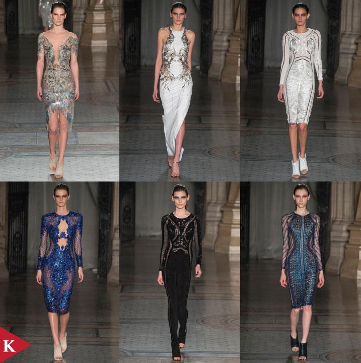 London FashionWeek - FALL 2014 READY-TO-WEAR Julien Macdonald