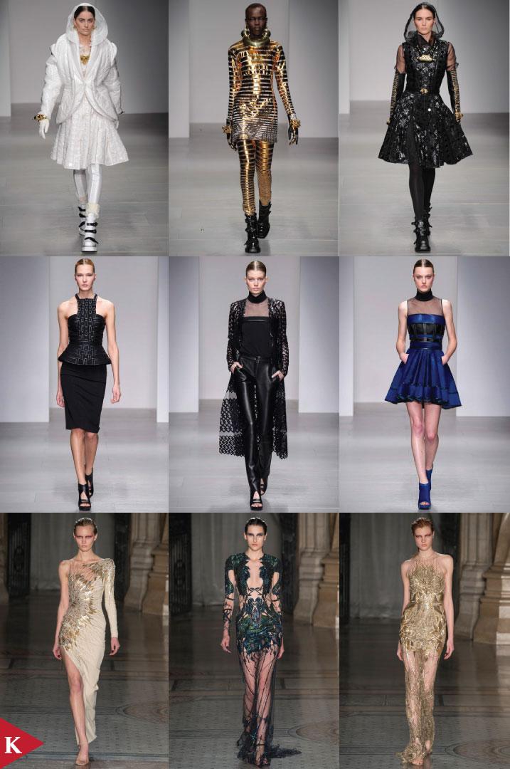 London FashionWeek - FALL 2014 READY-TO-WEAR - KTZ - David Koma - Julien Macdonald