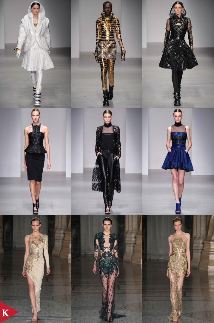 London FashionWeek - FALL 2014 READY-TO-WEAR - KTZ - David Koma - Julien Macdonald