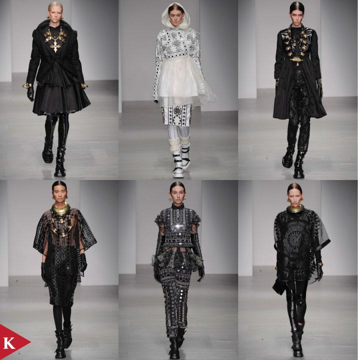 London FashionWeek - FALL 2014 READY-TO-WEAR KTZ