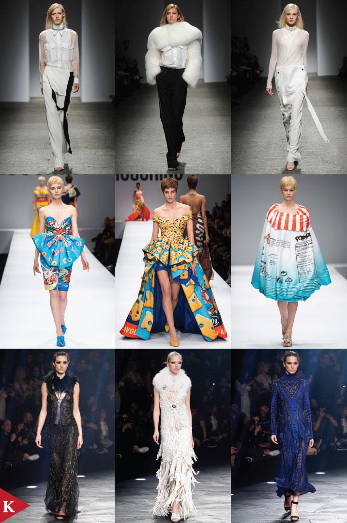 Milano FashionWeek - FALL 2014 READY-TO-WEAR - Ports 1961 - Moschino - Roberto Cavalli