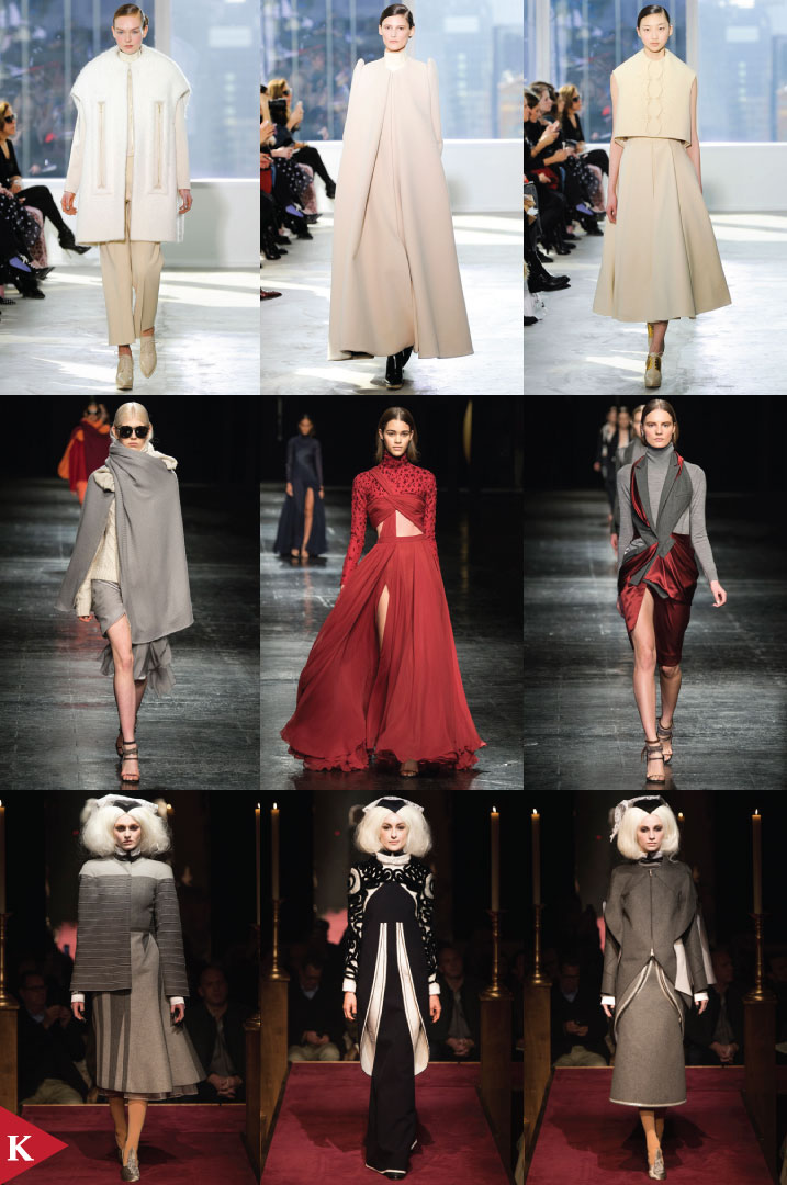 NewYork FashionWeek - FALL 2014 READY-TO-WEAR Delpozo - Prabal Gurung - Thom Browne