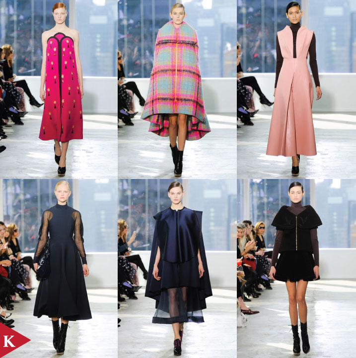NewYork FashionWeek - FALL 2014 READY-TO-WEAR Delpozo