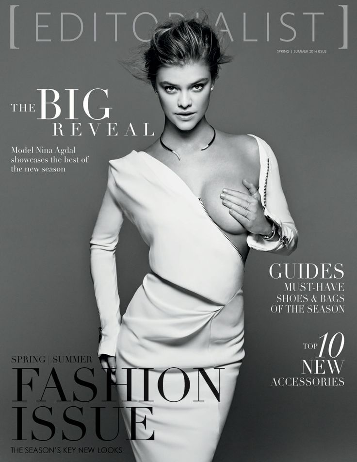 Nina Agdal for Editorialists March 2014 by Derek Kettela