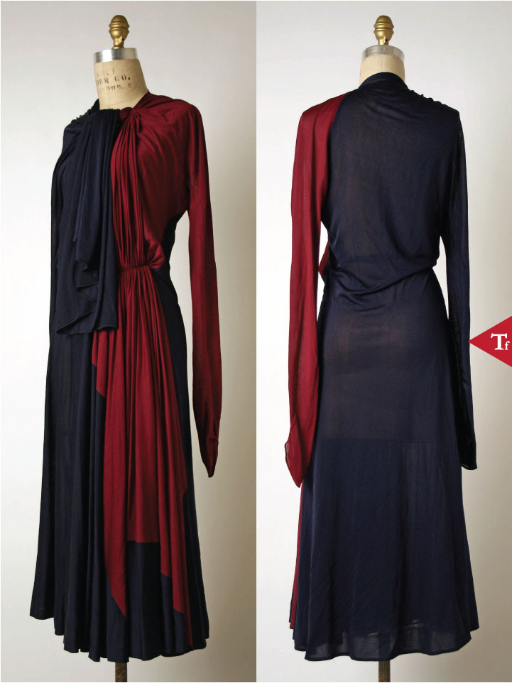 ThrowbackFashion - Afternoon dress Madame Grès (Alix Barton) (French Paris 1903–1993 Var region)