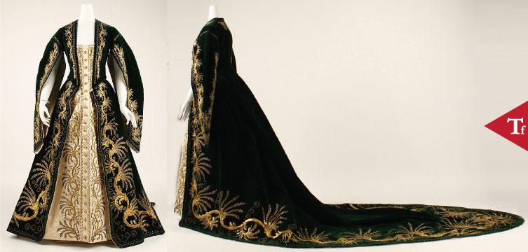 ThrowbackFashion - Court robe