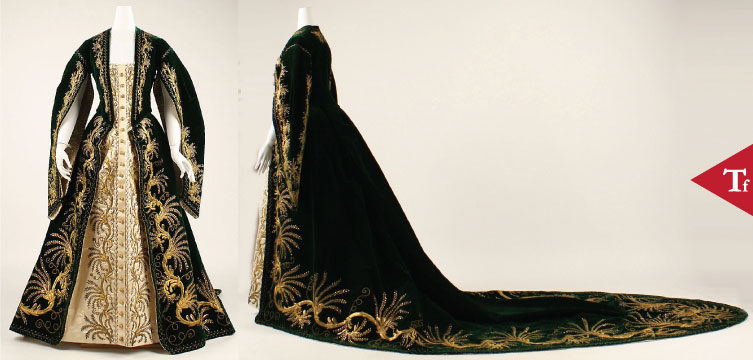 ThrowbackFashion - Court robe
