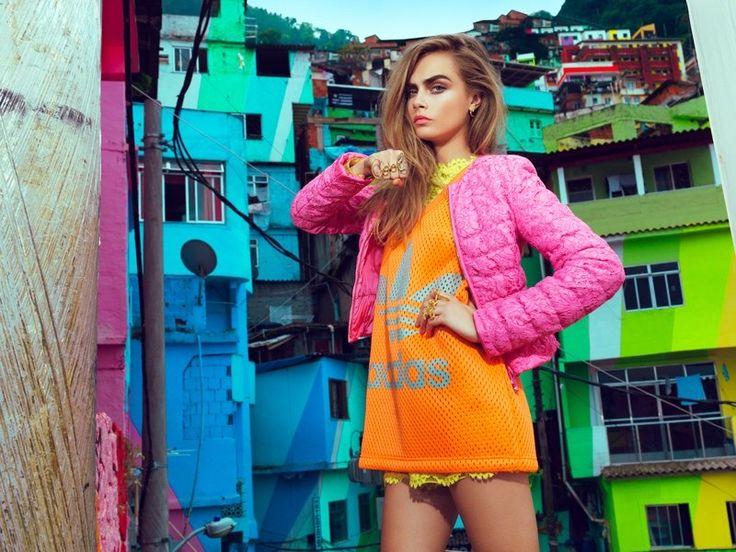 Cara Delevingne - Vogue Brazil February 2014 Jacques Dequeker