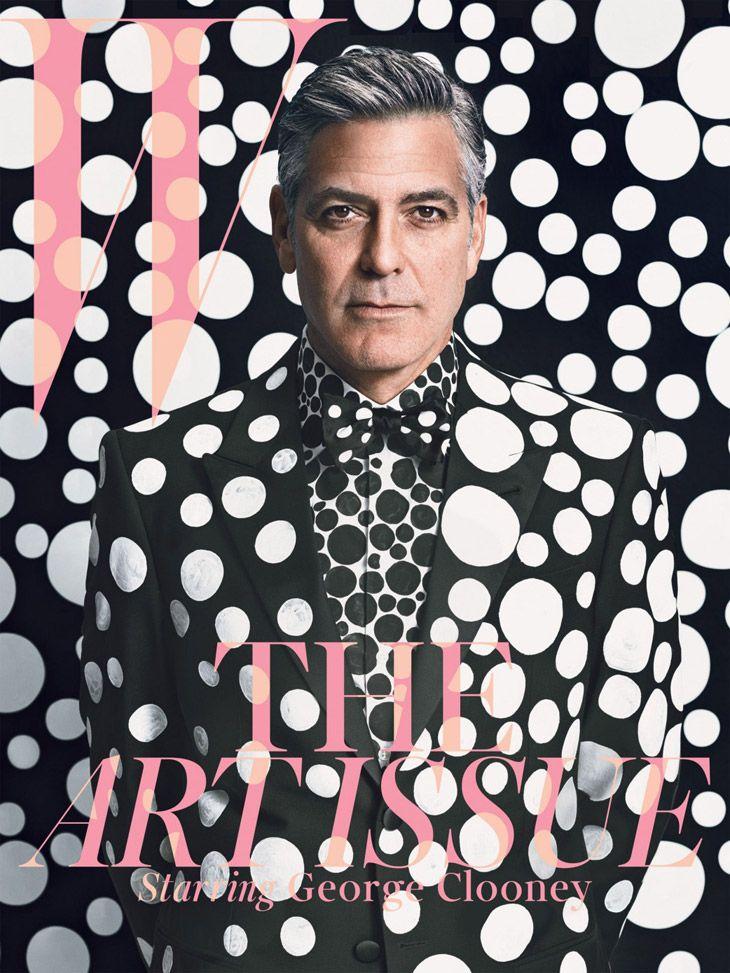 George Clooney - W Magazine December 2013 Emma Summerton
