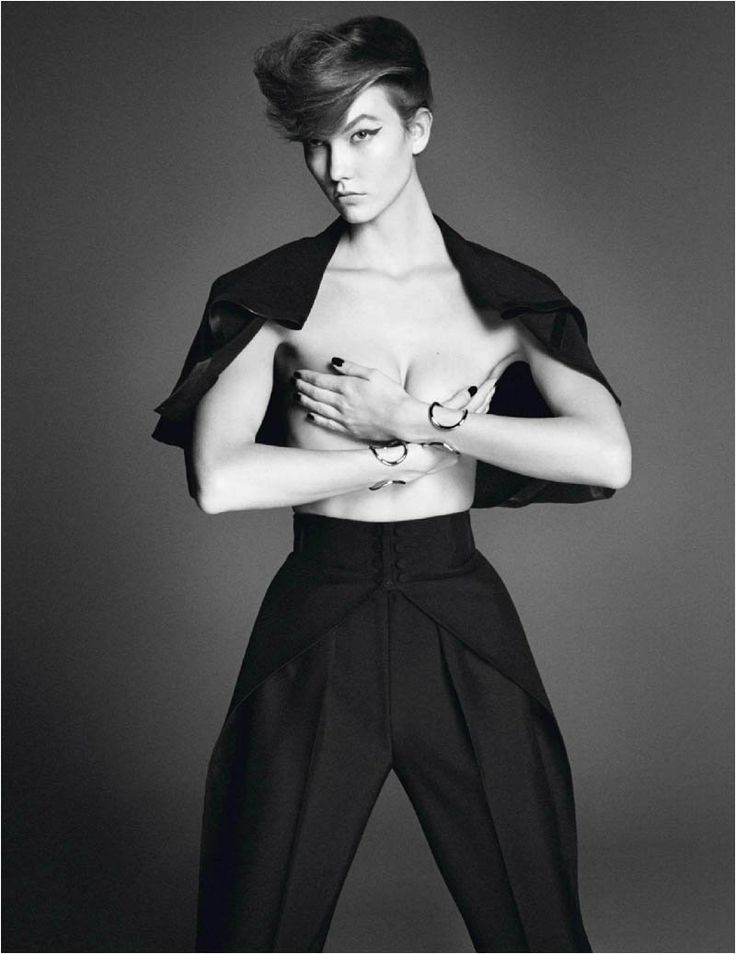 Karlie Kloss - Affranchie - Vogue Paris, March 2014 David Sims