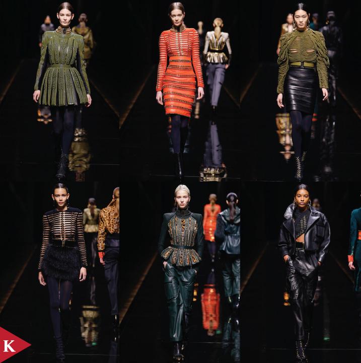 Paris FashionWeek - FALL 2014 READY-TO-WEAR Balmain