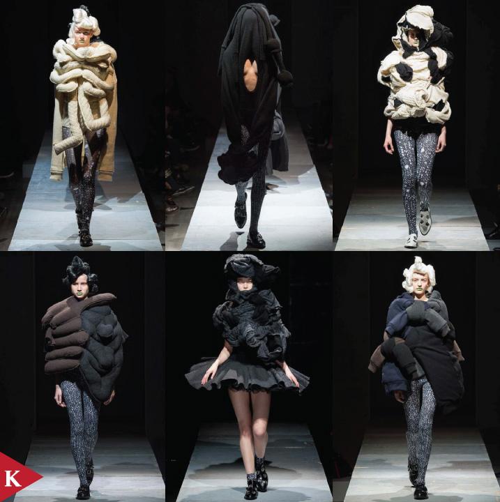 Paris FashionWeek - FALL 2014 READY-TO-WEAR Comme Des Garçons