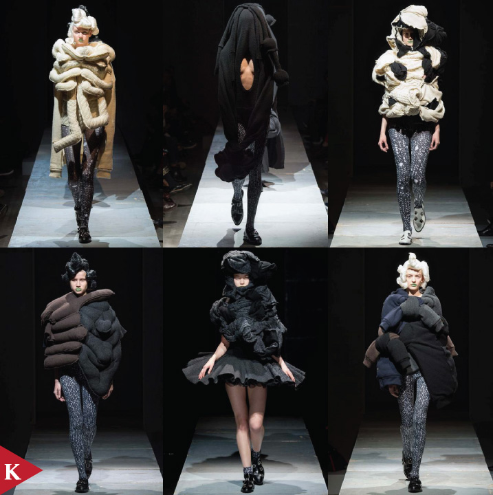 Paris FashionWeek - FALL 2014 READY-TO-WEAR Comme Des Garçons