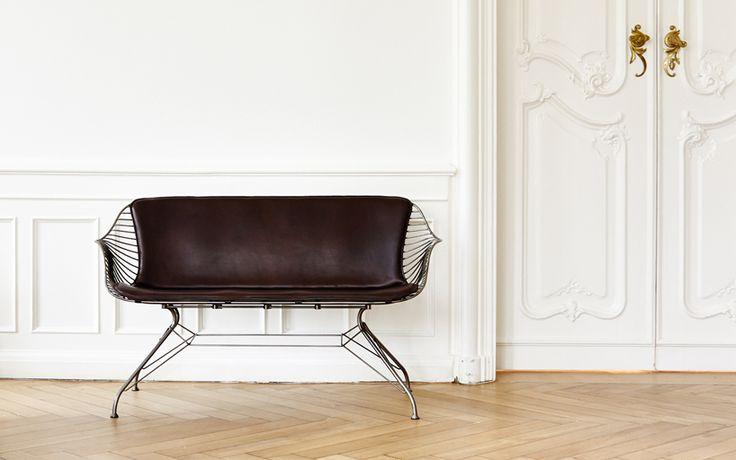 Wire Love Chair, 2014 Jasper Overgaard, Christian Dyrman