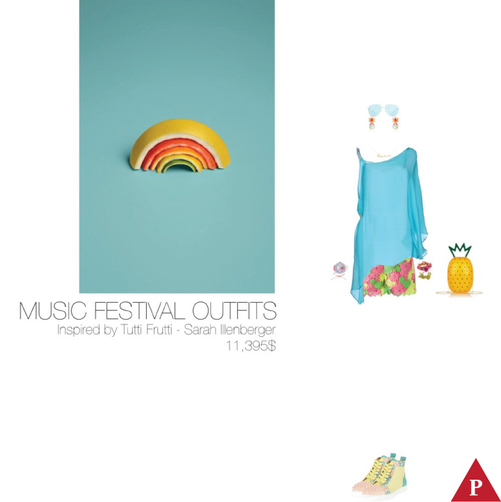 11395$ Music Festival #MostExpensiveOutfit Inspired by Tutti Frutti 2013 – Sarah Illenberger