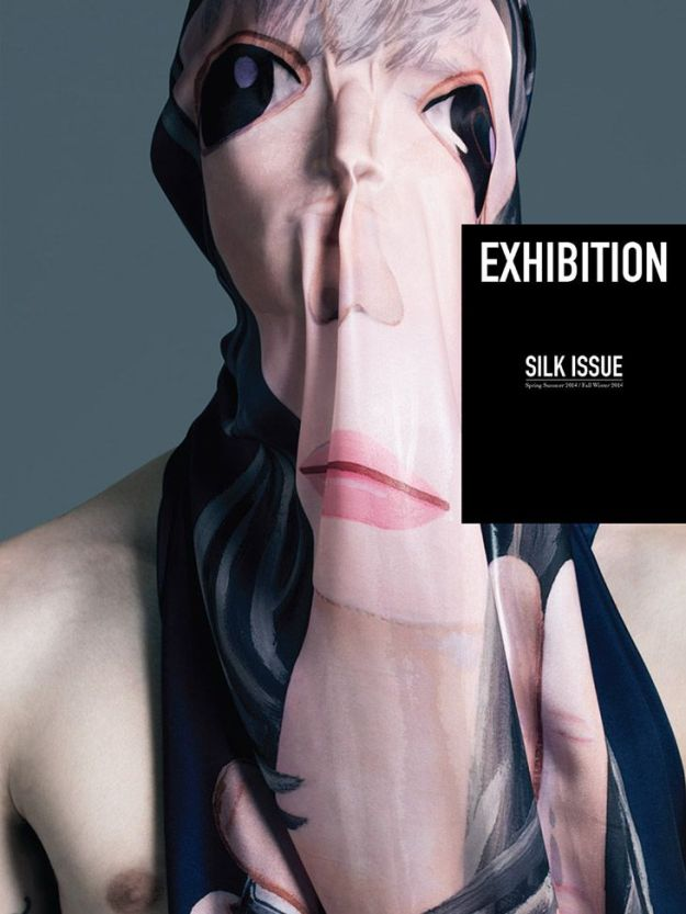 Anonymous Model by Pierre Debusschere for EXHIBITION Magazine The Silk Issue 2014