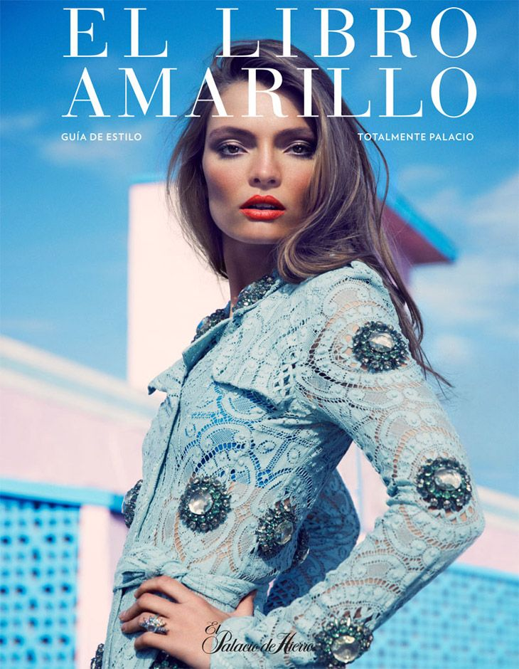 Carola Remer by David Roemer for El Libro Amarillo April 2014