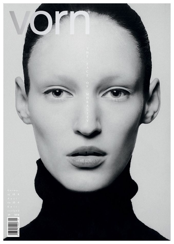 Franziska Muller by Thomas Schenk for Vorn Germany No.10 2014