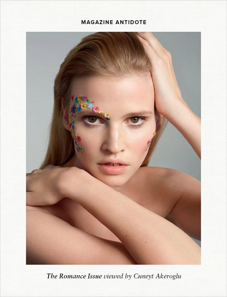 Lara Stone by Cuneyt Akeroglu for Antidote Magazine April 2014