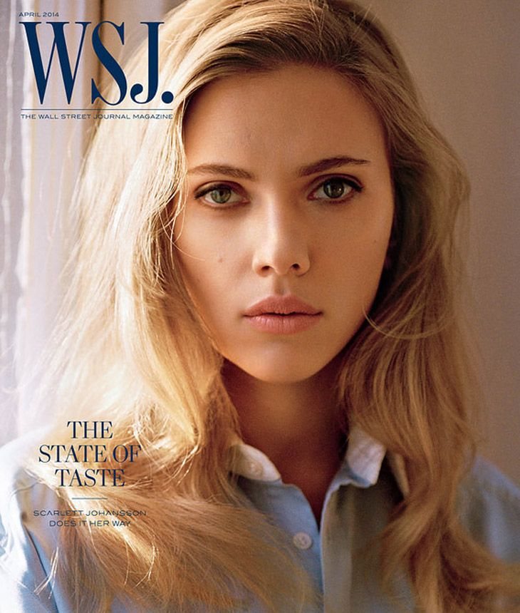 Scarlett Johansson by Alasdair McLellan for WSJ Magazine April 2014