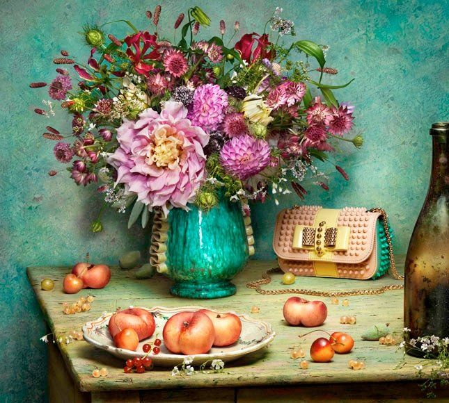 The Art of Shoes - Christian Louboutins Spring 2014 Peter Lippmann