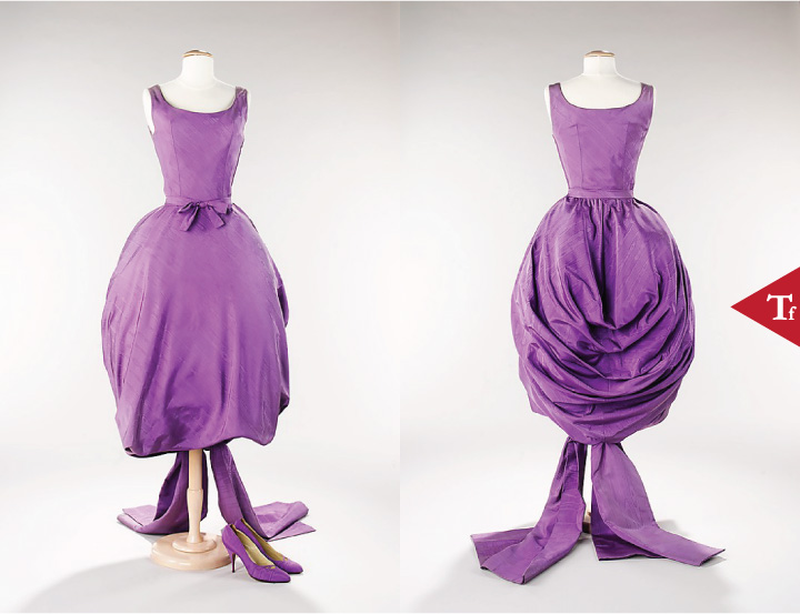 ThrowbackFashion-Evening ensemble 1956 House of Givenchy