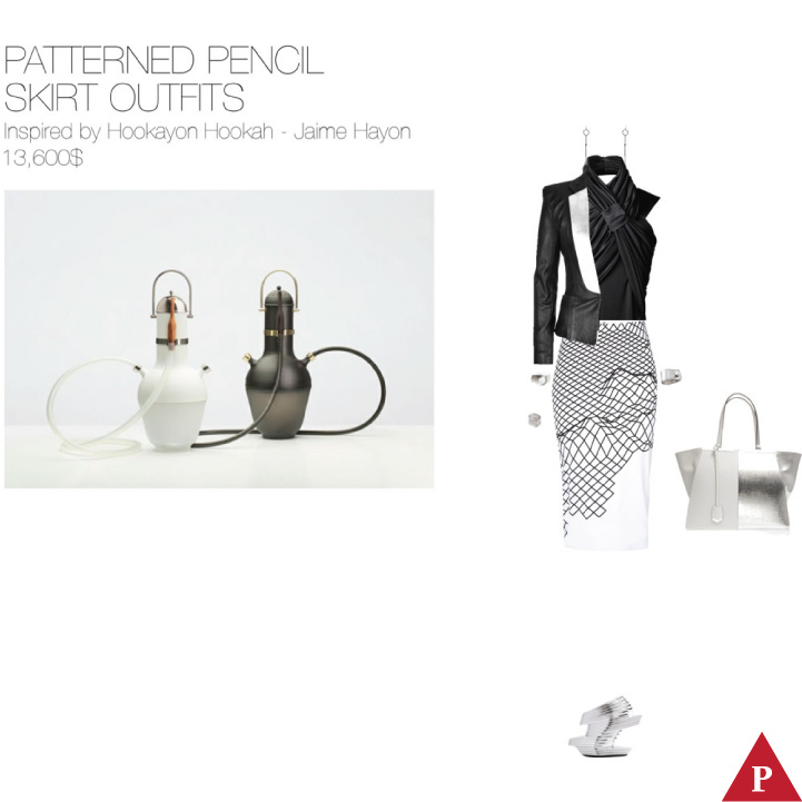13600$ Patterned Pencil Skirt #MostExpensiveOutfit Inspired by Hookayon Hookah 2014 – Jaime Hayon