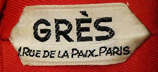 1994.147.7a_label-Evening ensemble 1968 Madame Grès (Alix Barton) (French, Paris 1903–1993 Var region)