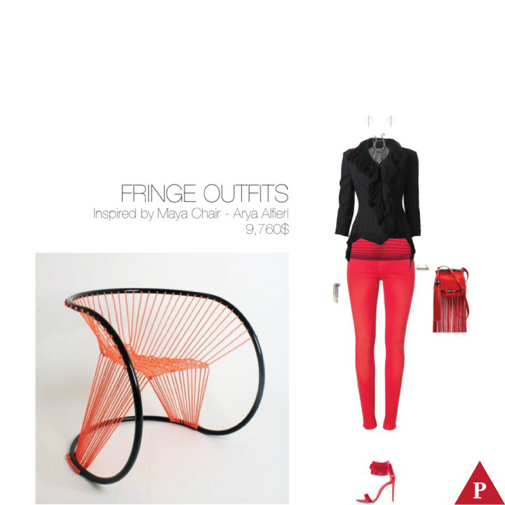 9760$ Fringe #MostExpensiveOutfit Inspired by Maya Chair- 2013 – Arya Alfieri