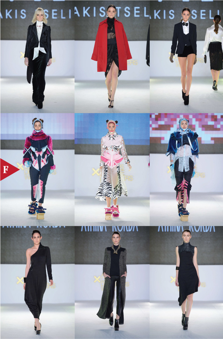Athens-fashionweek-fall-2014-ready-to-wear-Makis Tselios-Nicolaos Tsironis-Athina Korda