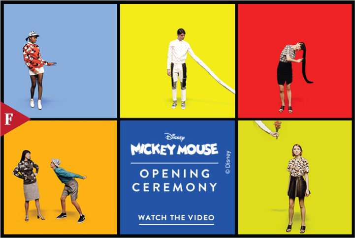 #FashionFilm Mickey Mouse - Opening Ceremony by Pensacola