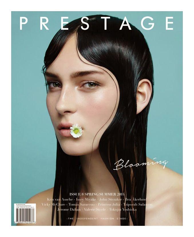 Julia Bergshoeff by Jasper Abels for Prestage No. 8, 2014