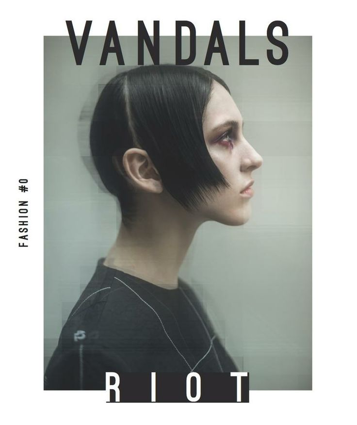 Lida Fox by Mathieu Vladimir Alliard for Vandals Magazine 2014
