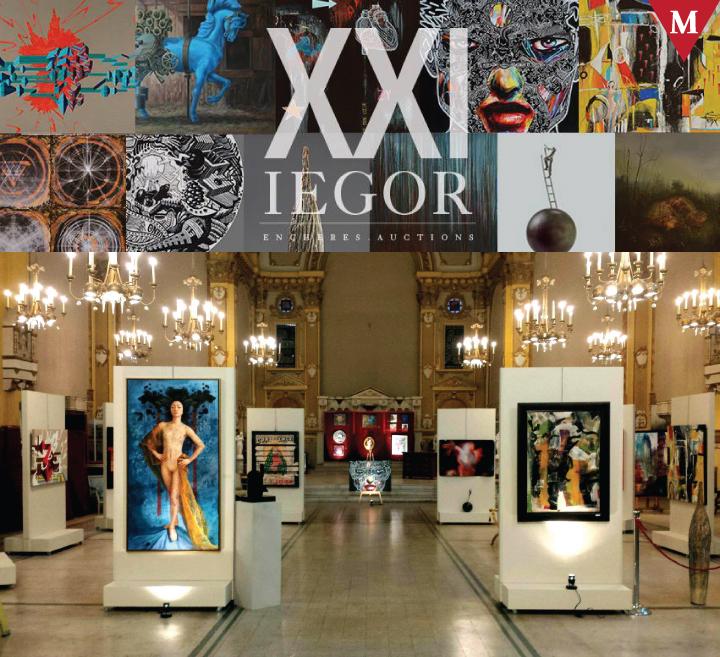 MONTRÉAL EVENT-#ArtMTL 21St Century Art Auction at @Iegor_Auctions