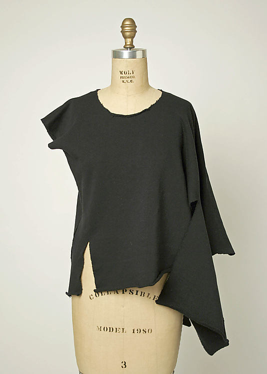 Shirt 1983 by Comme des Garçons (Japanese, founded 1969)-1995.209.4_F
