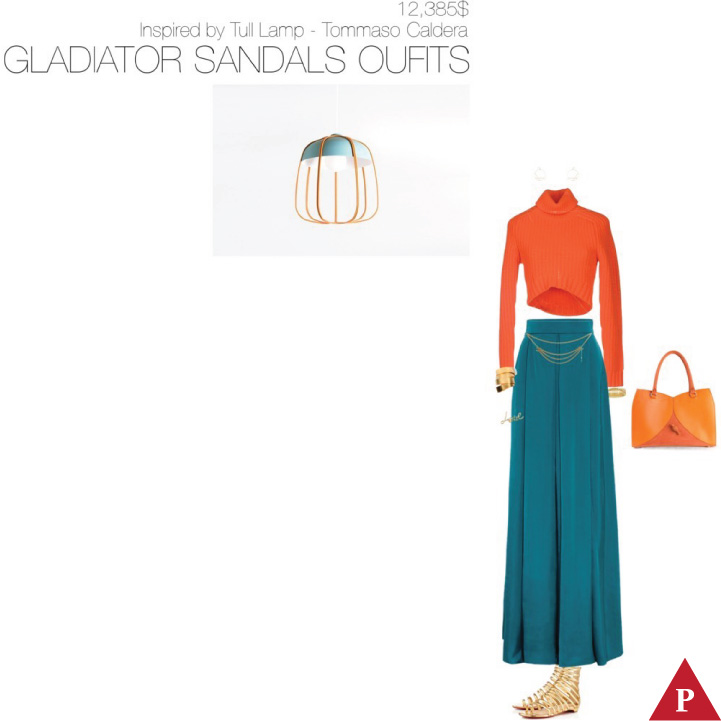 12385$ Gladiator Sandals #MostExpensiveOutfit Inspired by Tull Lamp- 2014 – Tommaso Caldera