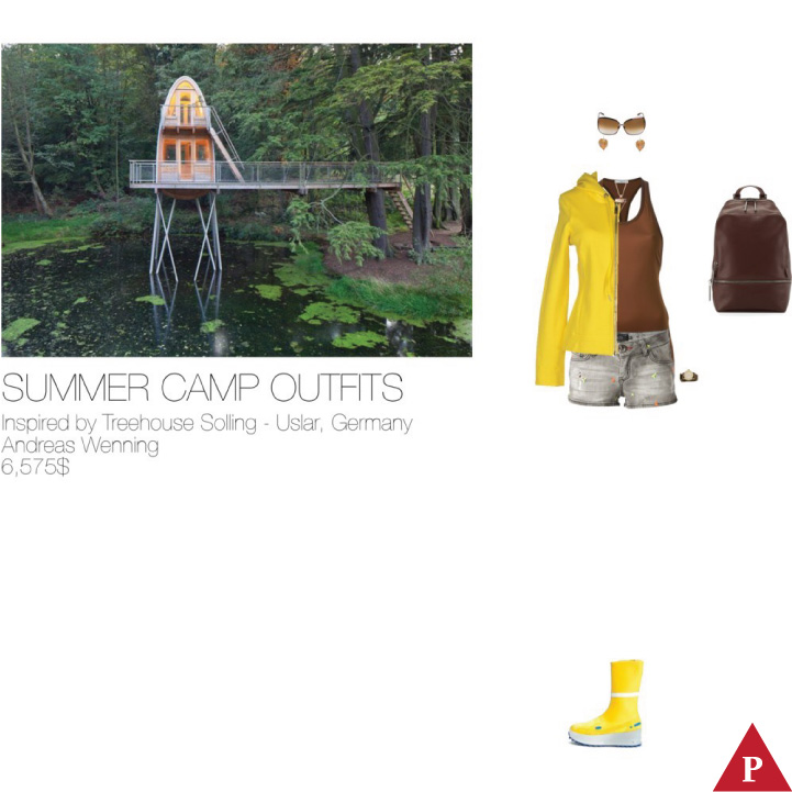 6575$ Summer Camp #MostExpensiveOutfit Inspired by Treehouse Solling – Uslar- Germany- 2014 – Andreas Wenning