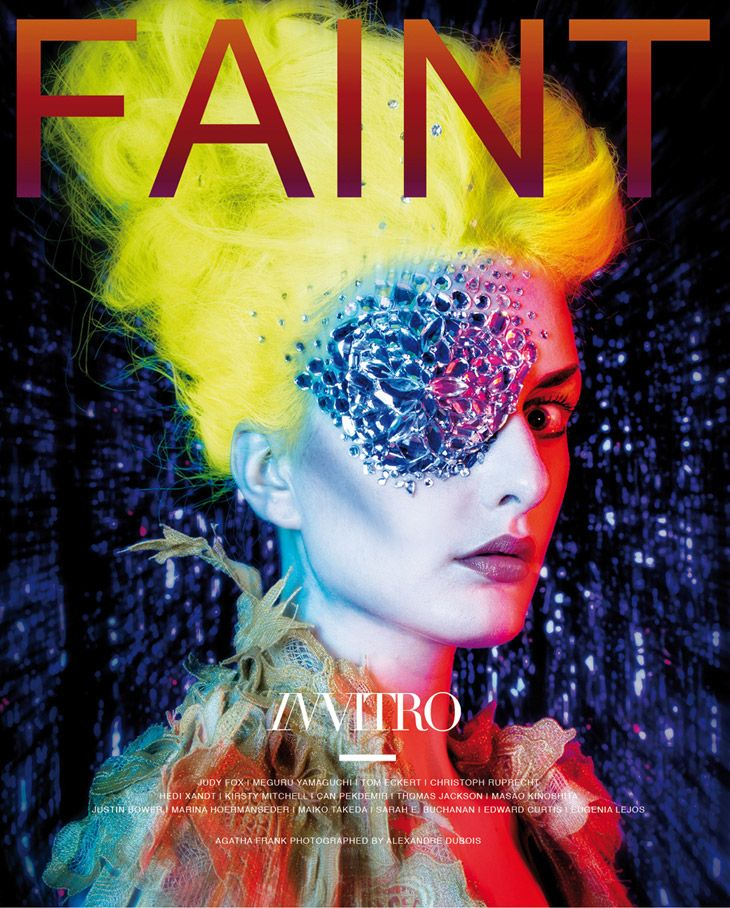 Agatha Frank by Alexandre Dubois for FAINT Magazine 2014