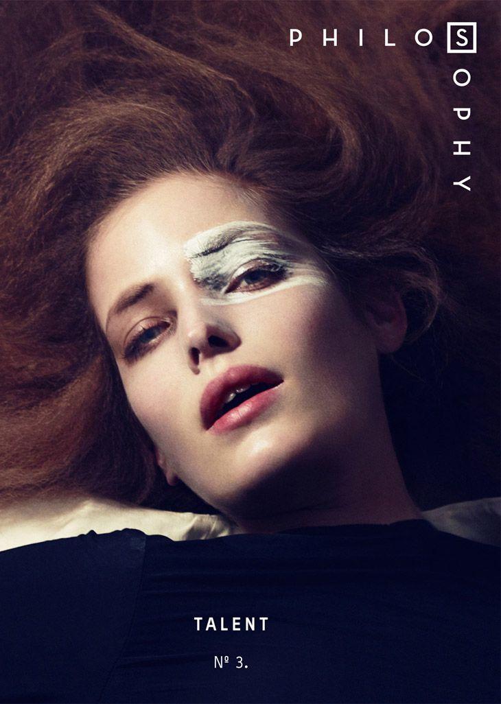 Alisa Ahmann by Bojana Tatarska for Philosophy Magazine 2014