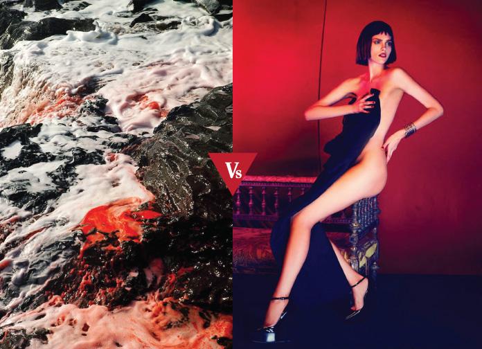 Art #VsFashion - Bloody Body ft. Arnaud Lajeunie- Enric Galceran