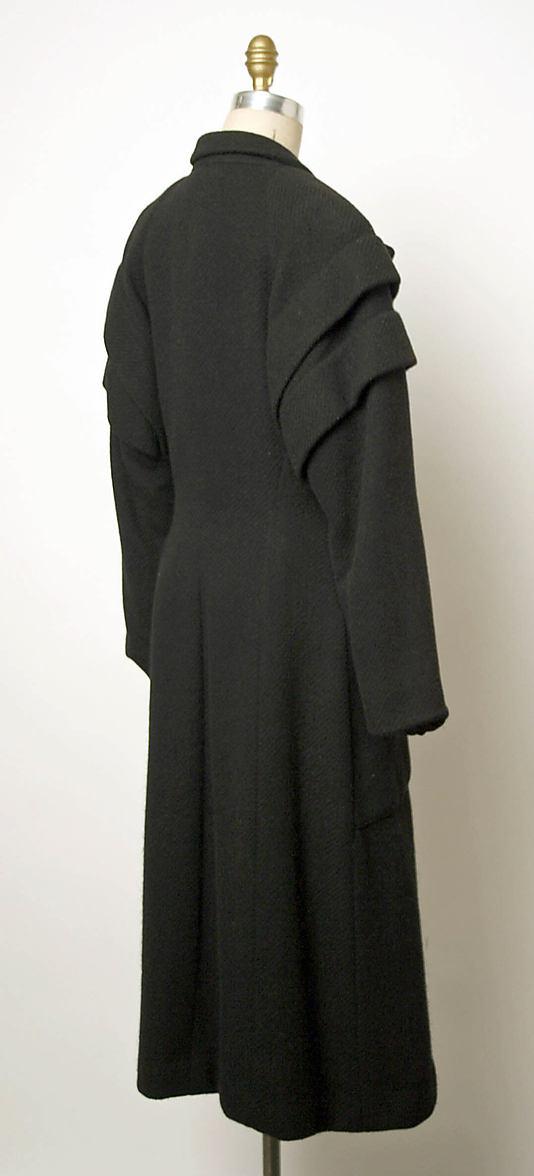 Coat 1949 Elsa Schiaparelli (Italian, 1890–1973)-1984.587.10_B