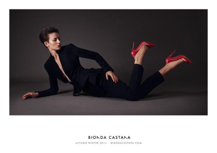 Ellinore Erichsen - Bionda Castanas Fall 2014 Dima Hohlov