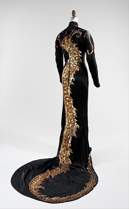 Evening dress 1934 by Travis Banton (American, 1894–1958)-56.170.5_back_CP4